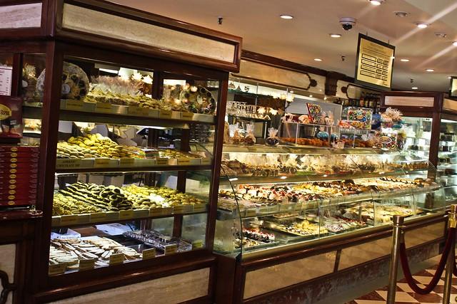 Inside Ferrara Bakery and Cafe