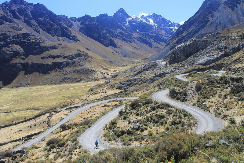 And still descending from Huarapasca