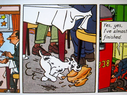 Tintin Snowy
