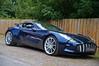 Aston Martin One 77 Blue