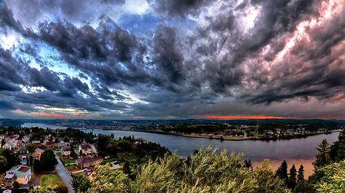 sunset canada canon river quebec 7d fjord saguenay ville chicoutimi 2013 québec rivière saguenaylacsaintjean canonef815mmf4lusm normandgaudreault