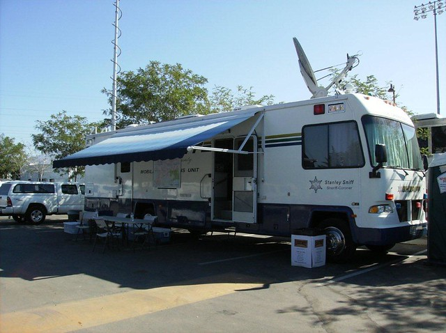 Silver Fire Photos | Silver Fire mobile command post | By ...