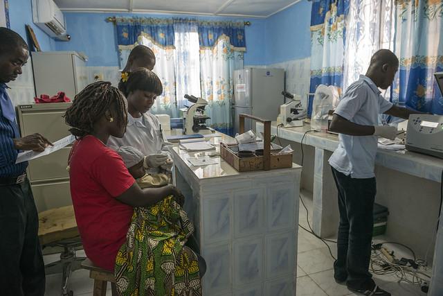 First Forensic Laboratory - Liberia (UNMIL)