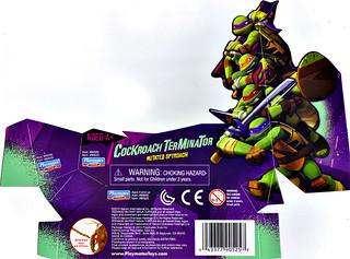 Nickelodeon  TEENAGE MUTANT NINJA TURTLES :: COCKROACH TERMINATOR ..card insert (( 2013 ))
