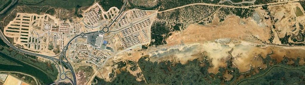 Corrales, Huelva, Pens, bolígrafos, antes, urbanismo, planeamiento, urbano, desastre, urbanístico, construcción