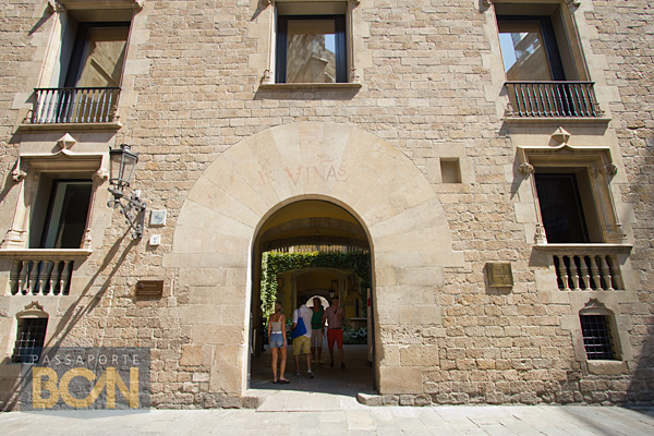 Palau del Lloctinente, Barri Gòtic, Barcelona