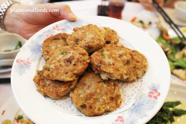 Fung Shing Restaurant (鳳城酒家) pan fried lotus root