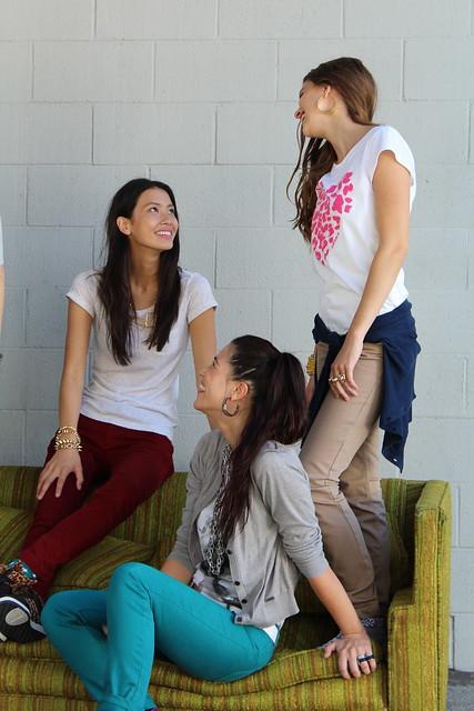 Adidas Neo Chloe Blanchard Shannon O'Connor Alisa Torres fall campaign shoot Los Angeles lisforlois