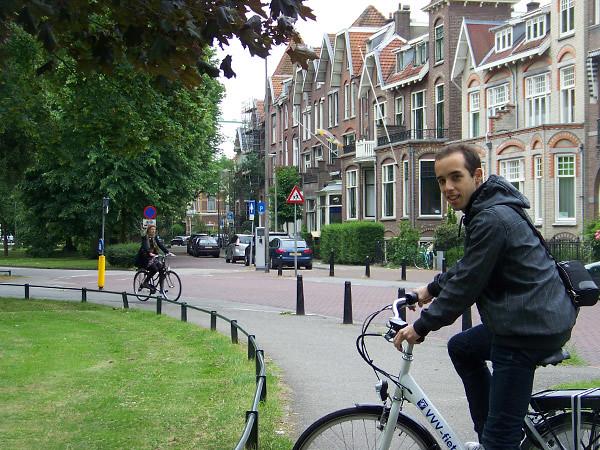 Bicicleta por Holanda