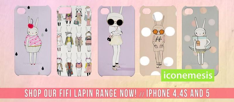 iconemesis Fifi Lapin iphone case