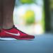 Nike Flyknit Racer - University Red by Jeremy Thomas Photography
