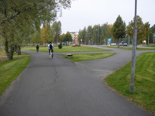 Ruta urbana de bici