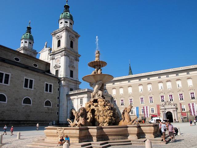 Salzburg Residentzplatz