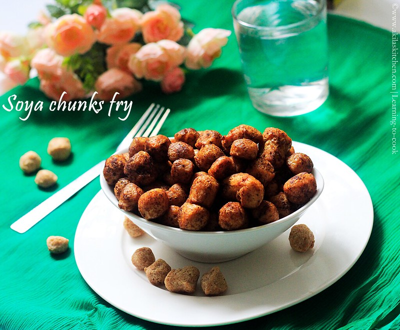 simple soya fry