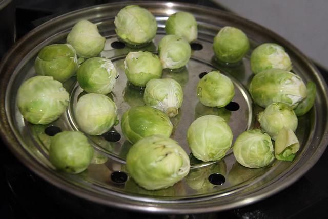 Salteado de Vegetales, jamón y Almendras (6)