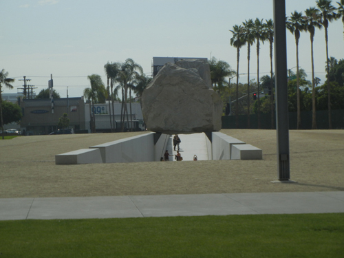 DSCN8051 _ Levitated Mass, 2012, Michael Heizer (born 1944), LACMA