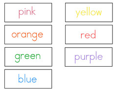 color-words