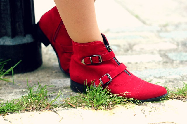 Marks and Spencer Red Boots