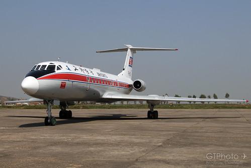 airplane aircraft airline airways northkorea tupolev dprk koryo tu134 airkoryo tupolev134 sondok
