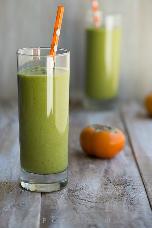 10246195564 6cd7bdba19 c Persimmon and Medjool Date Green Monster Smoothie