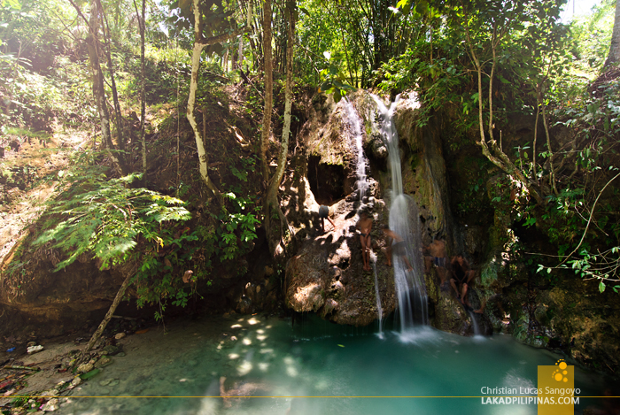 At Iligan City's Skull-Shaped Pampam Falls