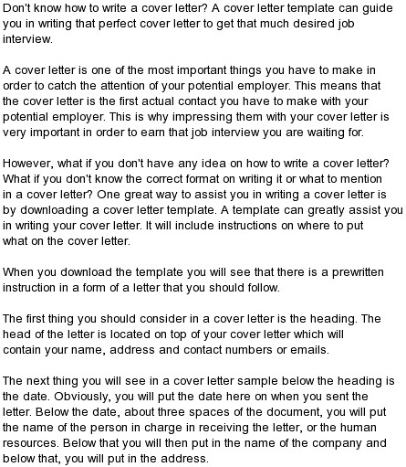 cover letter for cold calling position