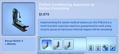 FitZord Conditioning Apparatus by Korben Computing