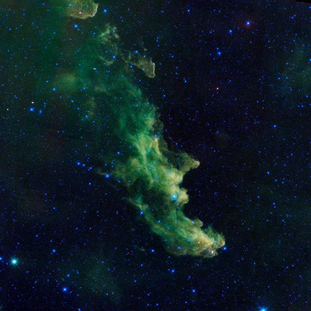 Witch Head Nebula Brews Baby Stars by NASA