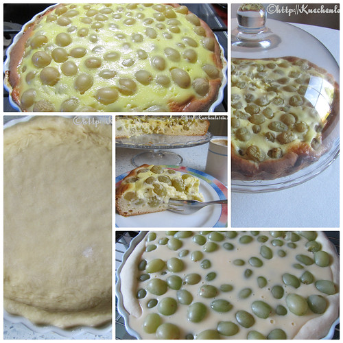 Letzeburger Drauwentoart – Luxemburger Traubenkuchen