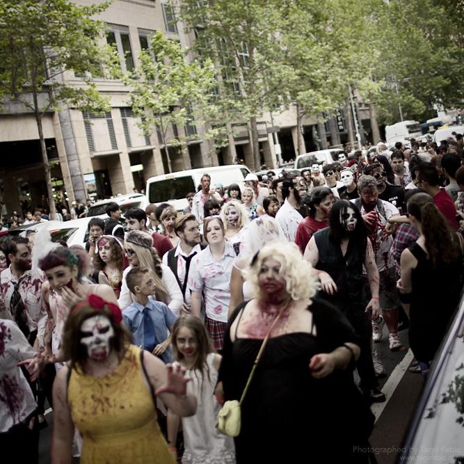 Sydney Zombie Walk 13