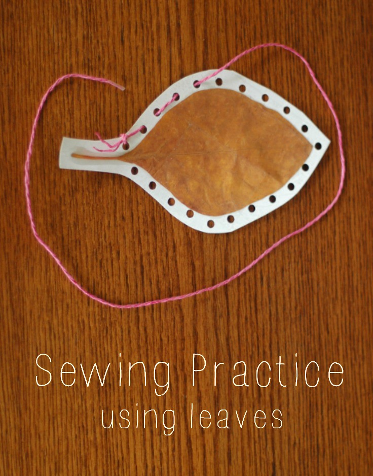 Sticks & Leaves: Sewing Practice
