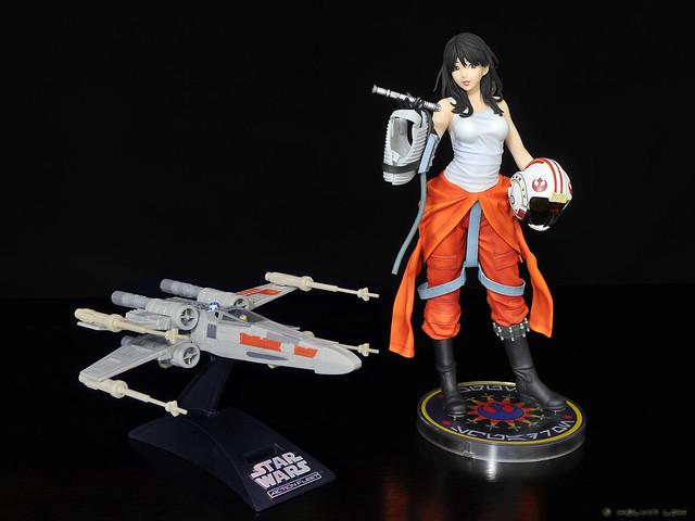 Jaina Solo - X-Wing pilot