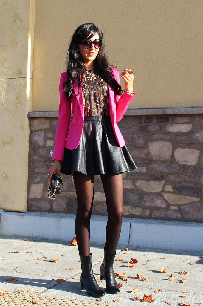 Pink Blazer and Leopard Print 2