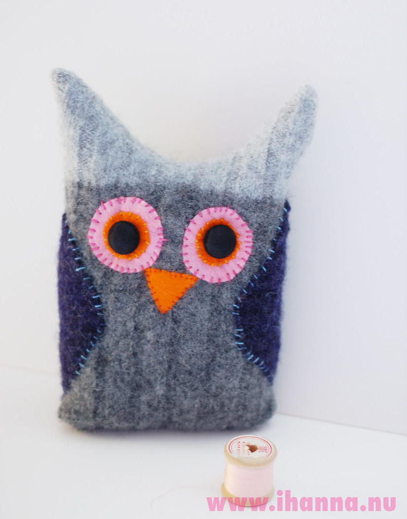 Wool Owl #2