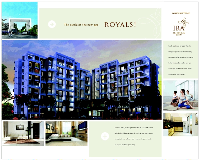 Ira 2 BHK 3 BHK Flats Sr No 25, Katraj Saswad Road Undri Pune 411028 Launch Ad 2 3 (30-11-2013)