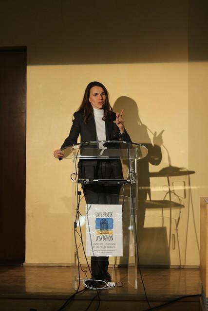Aurélie Filippetti, Forum d'Avignon 2013