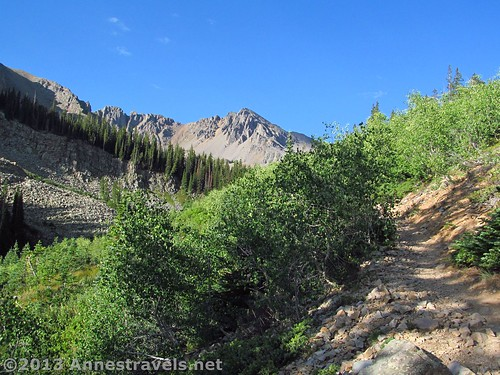 On the Cathedral Lake Trail, White River National Forest, Colorado