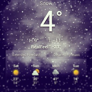 Real feel -23?!?! #brrrr #itsfriggincold #oldmanwinter #newengland #snow