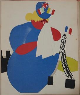 Russian placards, 1917-1922 (Vladimir Lebedev) - The lamentation of the Entente