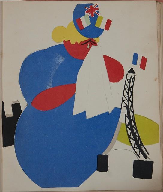 VLADIMIR LEBEDEV Vintage Russian Propaganda Poster 1923 Two Workers
