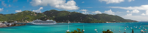 travel cruise sea panorama costa water mar nikon riviera ship harbour pano cruiseship caribbean nikkor bvi britishvirginislands westindies roadtown costamagica oceaniacruises d300s 18105mmf3556 nikon18105mmf3556 roadhabour