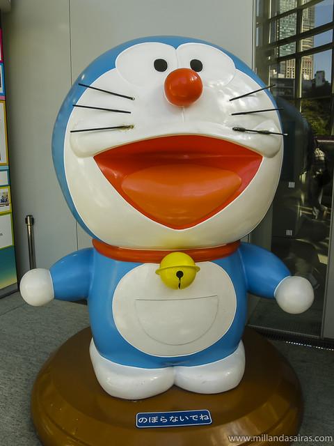 Doraemon en Roppongi
