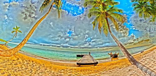 ocean panorama beach landscape republic juan dr scenic playa tropical tropic caribe caribean scenicview juandolio dolio doninican oceanatlantic doninicanrepublic