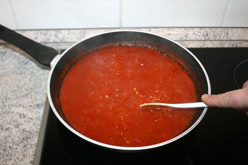 32 - Sauce zwischendurch umrühren / Stir sauce