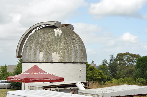 Preparing for the Mount Burnett Observatory Open Day 2014