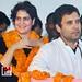 Priyanka Gandhi & Rahul Gandhi in Amethi 07