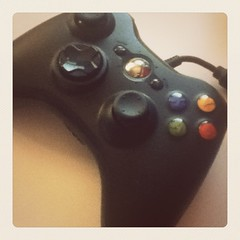 game controller(1.0), electronic device(1.0), brown(1.0), joystick(1.0), gadget(1.0),