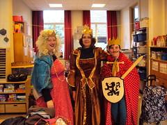 K2 : Knappe prinsessen en een stoere ridder in het park!