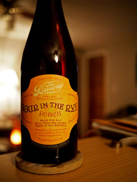 The Bruery Sour in the Rye with Peaches
