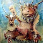 Painting Bear/ Deer